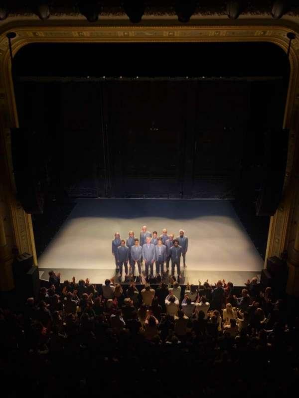 Hudson Theatre, secção: Balcony C, fila: A, lugar: 107