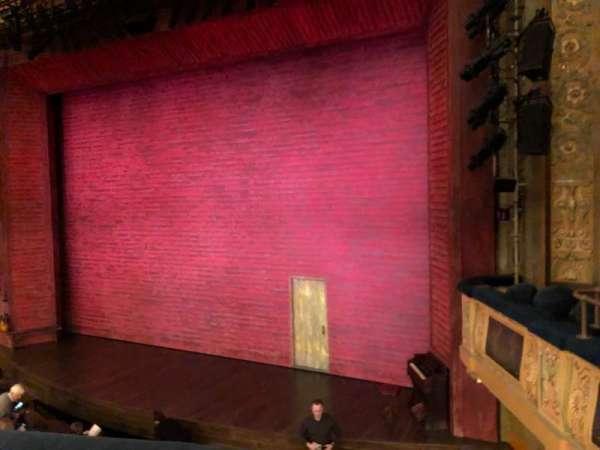Shubert Theatre, secção: Mezzanine R, fila: A, lugar: 14