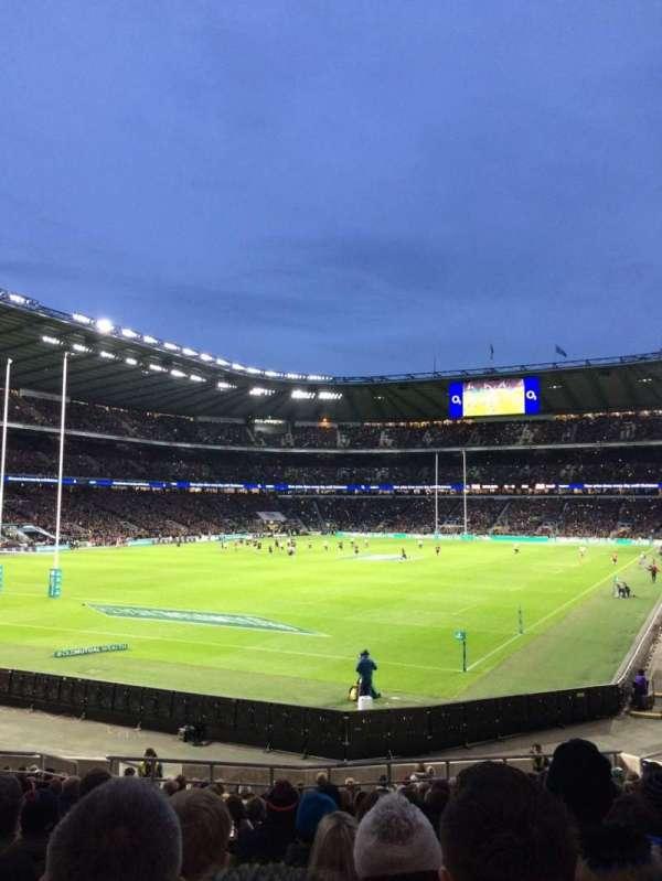 Twickenham Stadium, secção: L31, fila: 23, lugar: 62