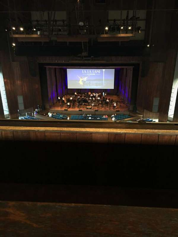 The Mann, secção: Balcony Center, fila: A, lugar: 121