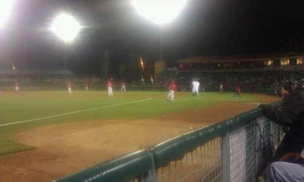 San Manuel Stadium, secção: 123, fila: aa, lugar: 3