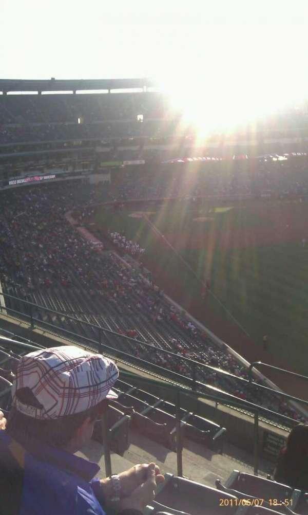 Angel Stadium, secção: V434, fila: g, lugar: 4