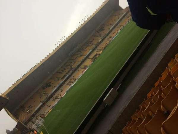 Molineux Stadium, secção: JL10, fila: J, lugar: 263