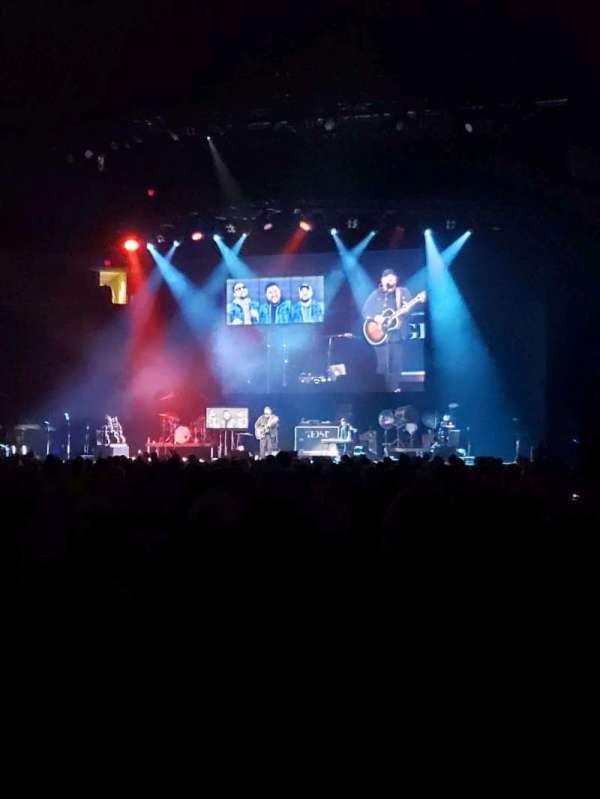 PNC Arena, secção: 122, fila: A, lugar: 3