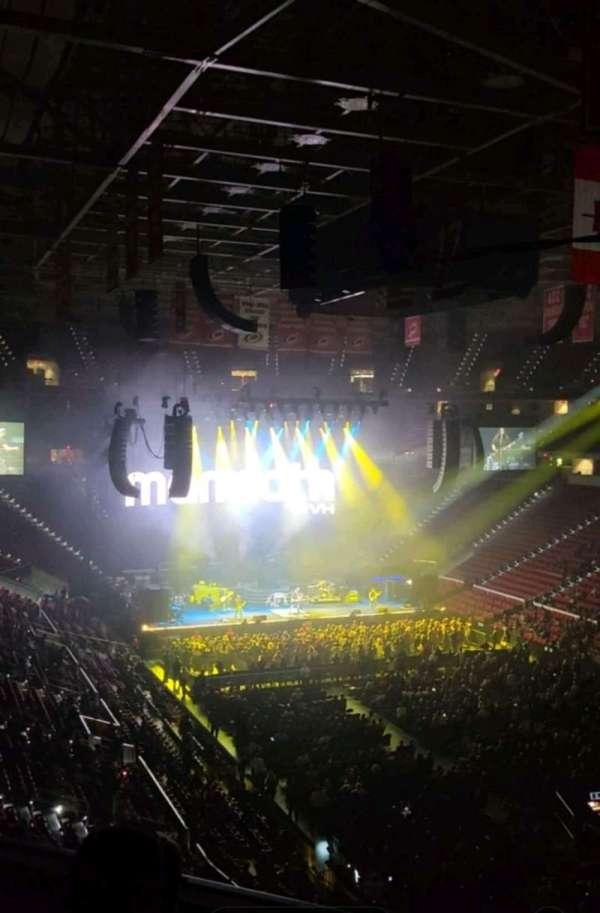 PNC Arena, secção: 229, fila: D, lugar: 14