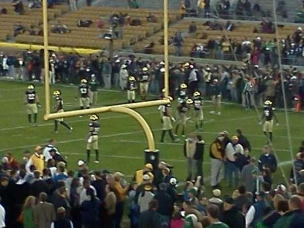 Notre Dame Stadium, secção: 3, fila: 31, lugar: 1 And 2