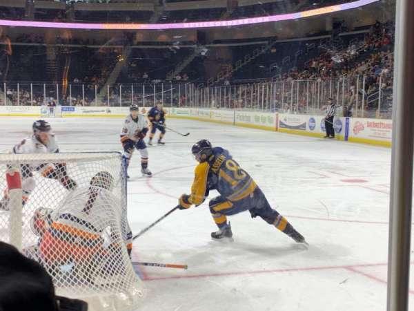 Infinite Energy Arena, secção: Goal Zone 3, fila: B, lugar: 12