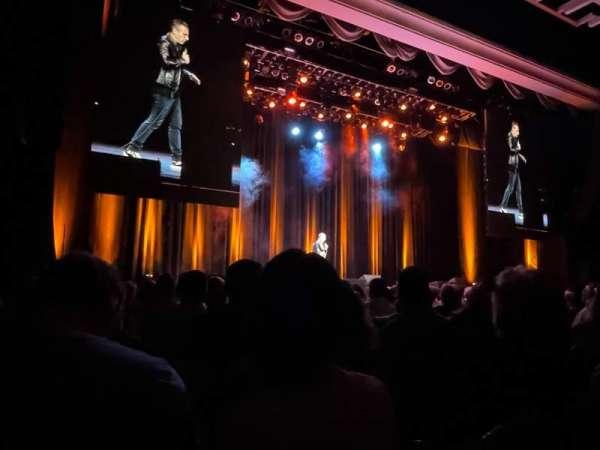 Borgata Event Center, secção: front, fila: 10