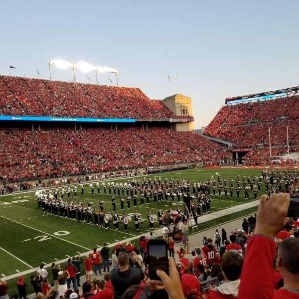 Ohio Stadium, secção: 15A, fila: 5, lugar: 5