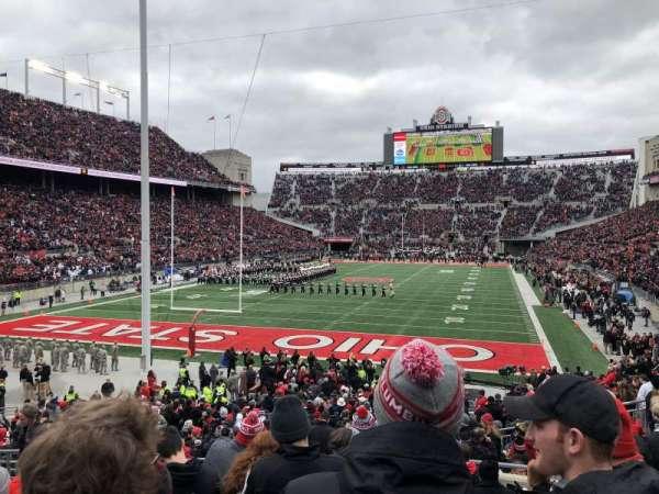 Ohio Stadium, secção: 5A, fila: 11, lugar: 7