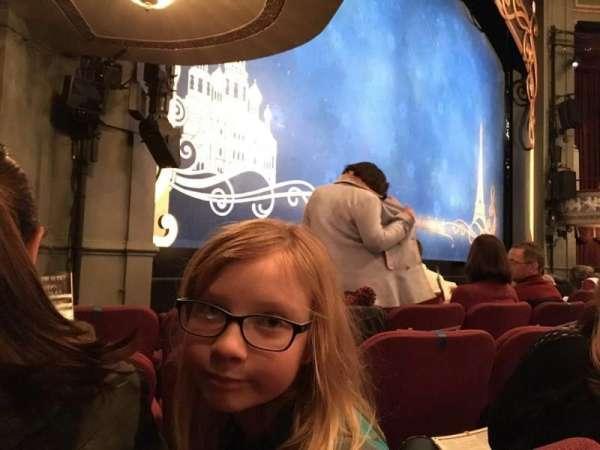 Broadhurst Theatre, secção: Orchestra L, fila: E, lugar: 19