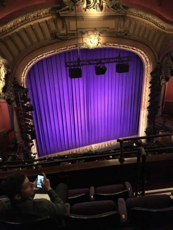 Lyceum Theatre (Broadway), secção: Balcony L, fila: D, lugar: 5