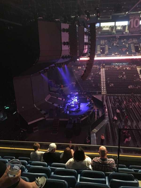 Mohegan Sun Arena, secção: 119, fila: E, lugar: 2