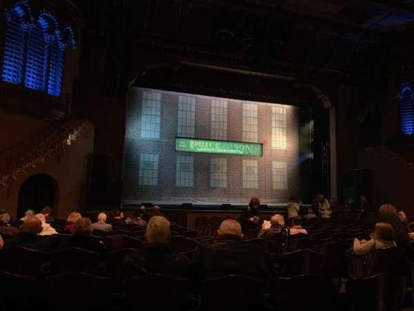 Fox Performing Arts Center, secção: ORCHL, fila: P, lugar: 9