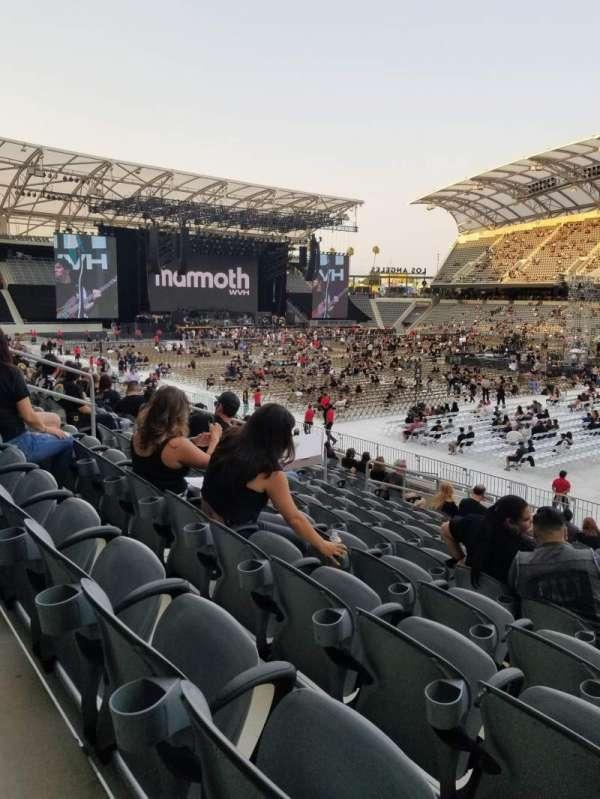 Banc of California Stadium, secção: 128, fila: Q, lugar: 7