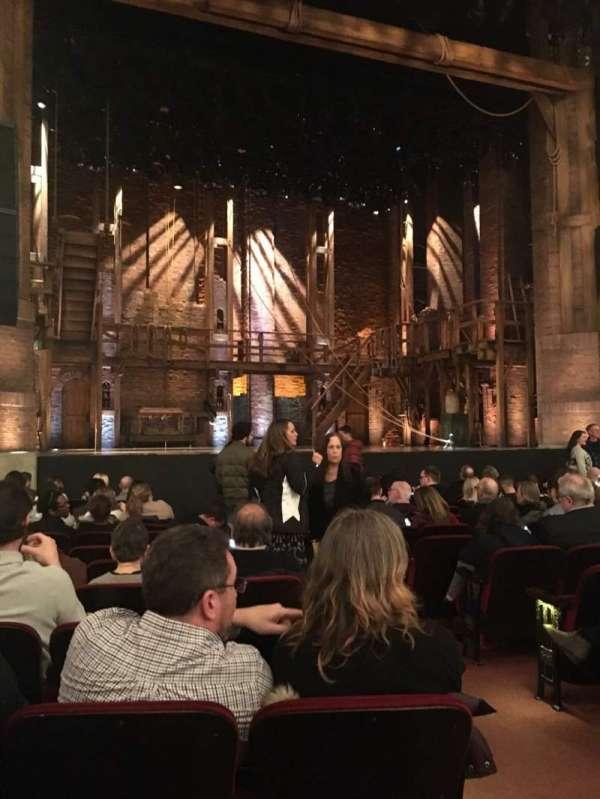 CIBC Theatre, secção: Orchestra L, fila: N, lugar: 3