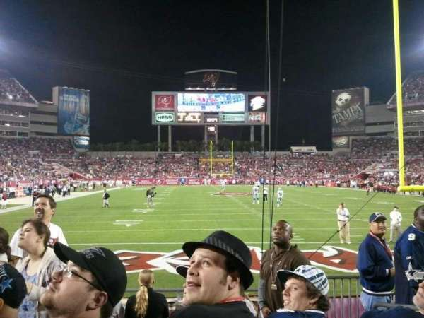 Raymond James Stadium, secção: 147, fila: G, lugar: 22