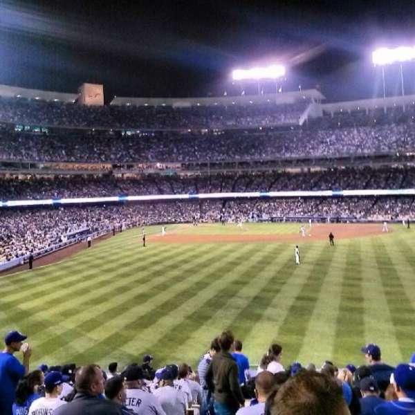 Dodger Stadium, secção: 304PL, fila: C, lugar: 2