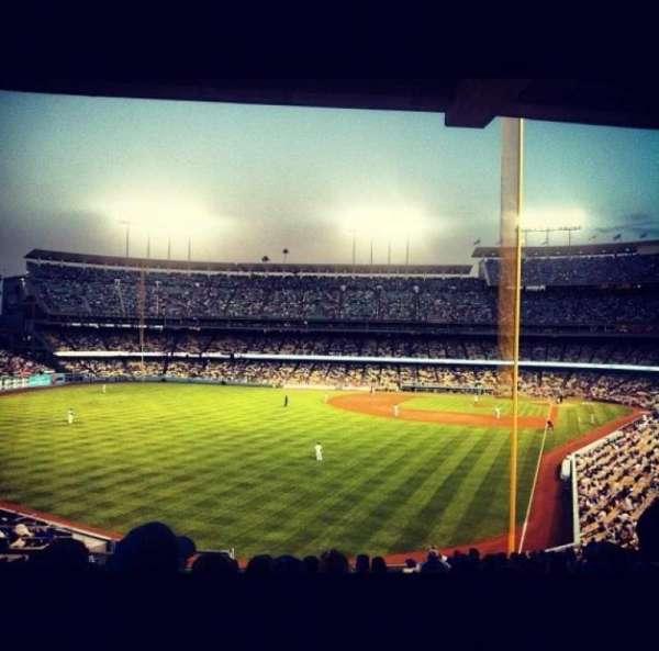 Dodger Stadium, secção: 167LG, fila: J, lugar: 5