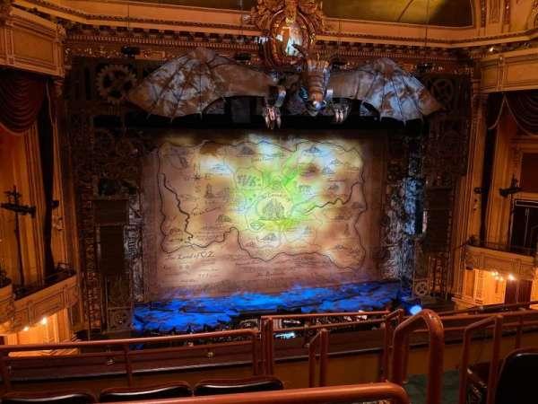 Hippodrome Theatre, secção: Center Middle Balcony, fila: D, lugar: 301