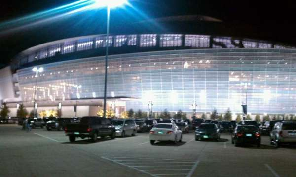 AT&T Stadium, secção: Outside
