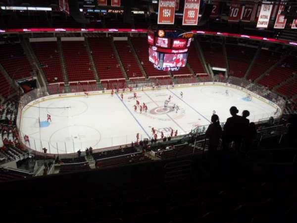 PNC Arena, secção: 306, fila: H, lugar: 8