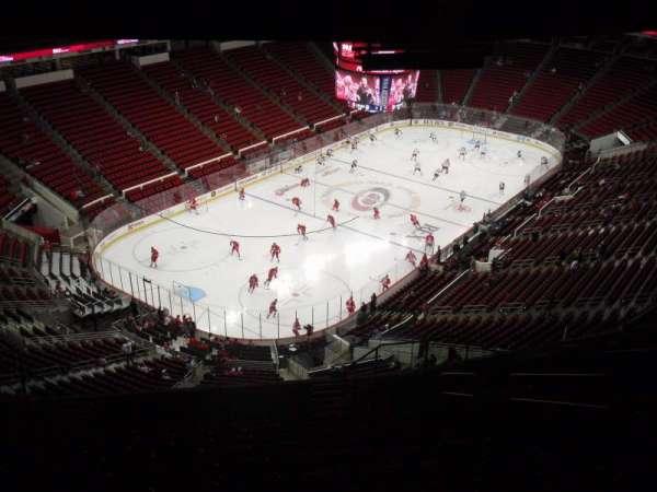 PNC Arena, secção: 310, fila: N, lugar: 7