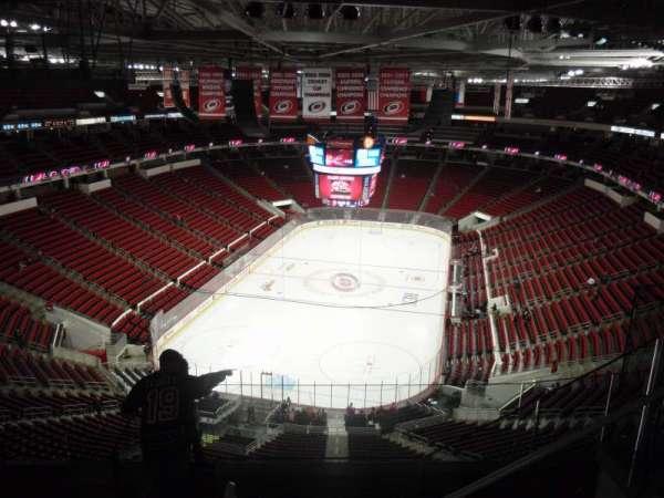 PNC Arena, secção: 313, fila: G, lugar: 5