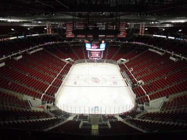 PNC Arena, secção: 314, fila: H, lugar: 12