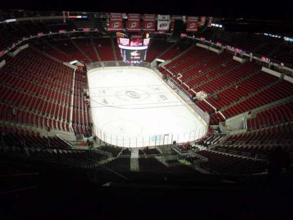 PNC Arena, secção: 315, fila: L, lugar: 14