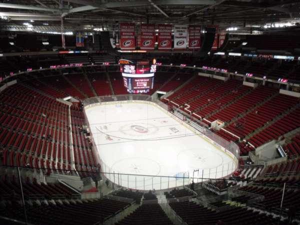 PNC Arena, secção: 316, fila: E, lugar: 5