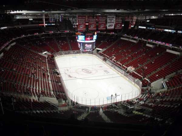 PNC Arena, secção: 316, fila: J, lugar: 6