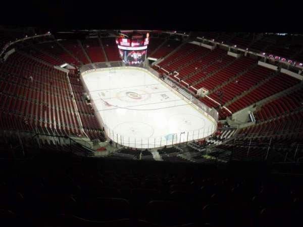 PNC Arena, secção: 316, fila: N, lugar: 7
