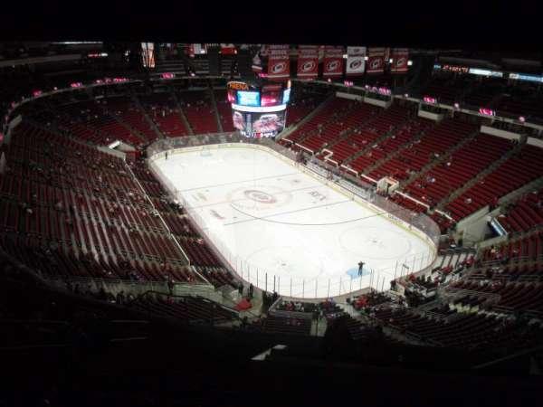 PNC Arena, secção: 317, fila: L, lugar: 9
