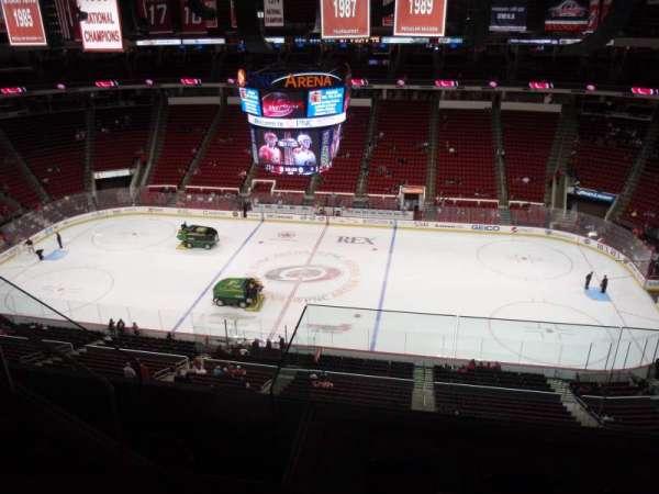 PNC Arena, secção: 323, fila: E, lugar: 19
