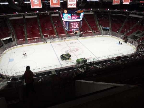 PNC Arena, secção: 325, fila: H, lugar: 18