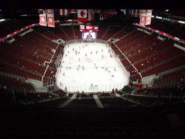 PNC Arena, secção: 333, fila: L, lugar: 25