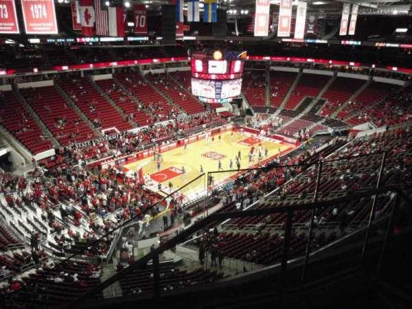 PNC Arena, secção: 329, fila: D, lugar: 2
