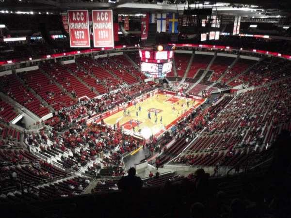 PNC Arena, secção: 330, fila: H, lugar: 10
