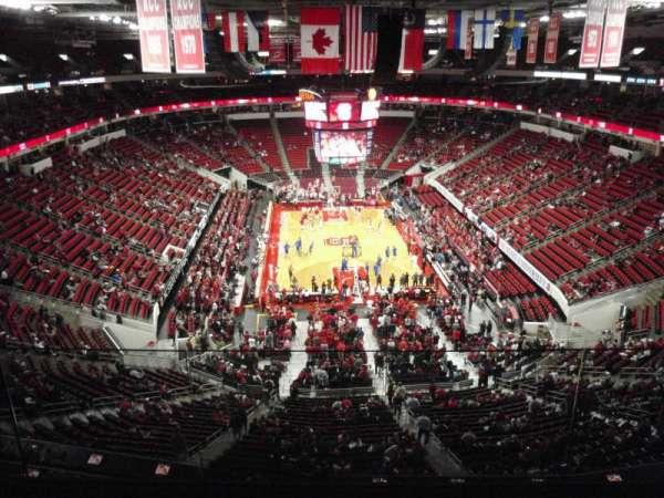 PNC Arena, secção: 333, fila: D, lugar: 24