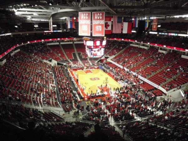 PNC Arena, secção: 334, fila: F, lugar: 24
