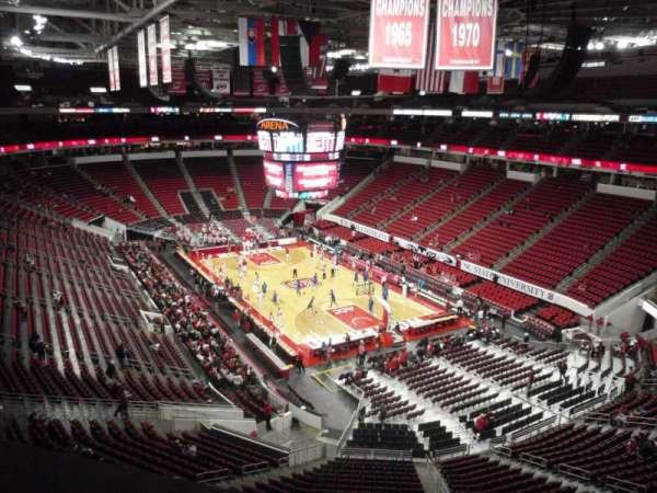 PNC Arena, secção: 336, fila: A, lugar: 5