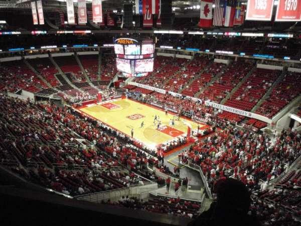 PNC Arena, secção: 337, fila: A, lugar: 1