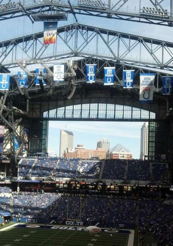 Lucas Oil Stadium, secção: 424