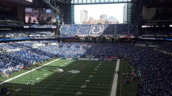 Lucas Oil Stadium, secção: 424, fila: 8, lugar: 10