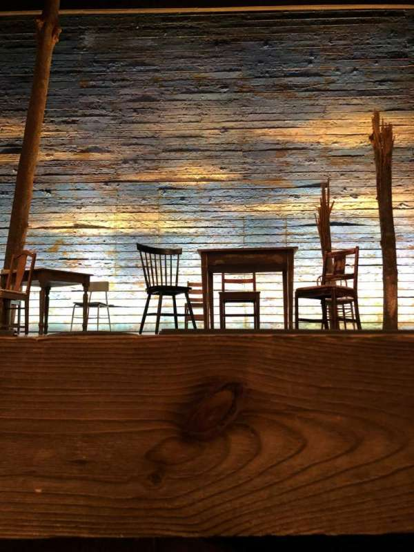 Gerald Schoenfeld Theatre, secção: Orchestra C, fila: AA, lugar: 108