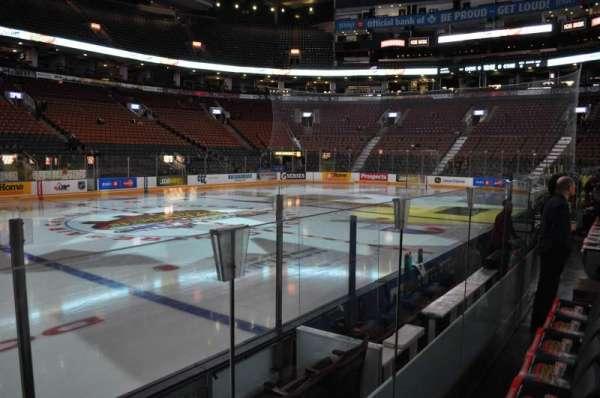 Scotiabank Arena, secção: 120, fila: 1, lugar: 8