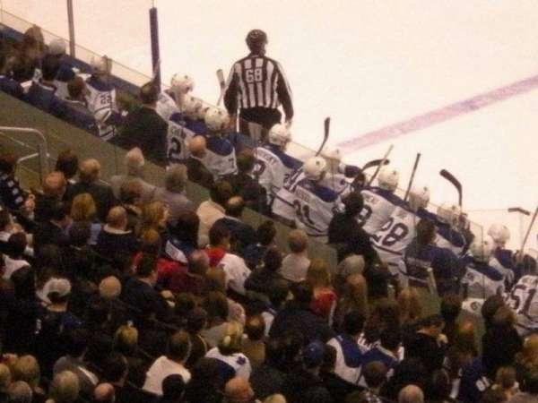 Scotiabank Arena, secção: 307, fila: 10, lugar: 4