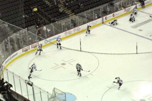 Nationwide Arena, secção: 207, fila: 15, lugar: 2