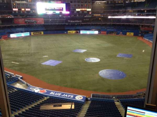 Rogers Centre, secção: Press Box